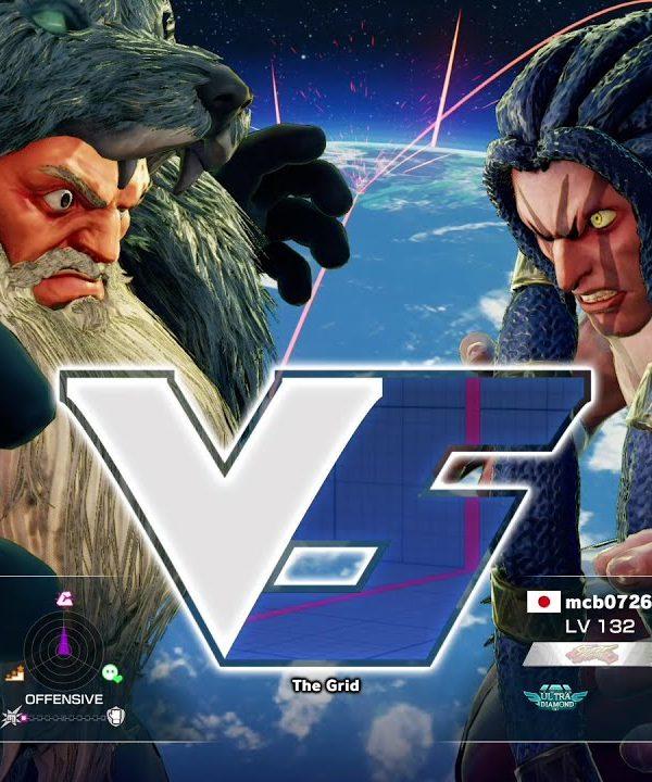 【スト5】板ザン(ザンギエフ)vs まちゃぼー(ネカリ)