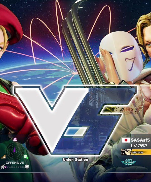 【スト5】かずのこ(キャミィ)vs ササ(バルログ)