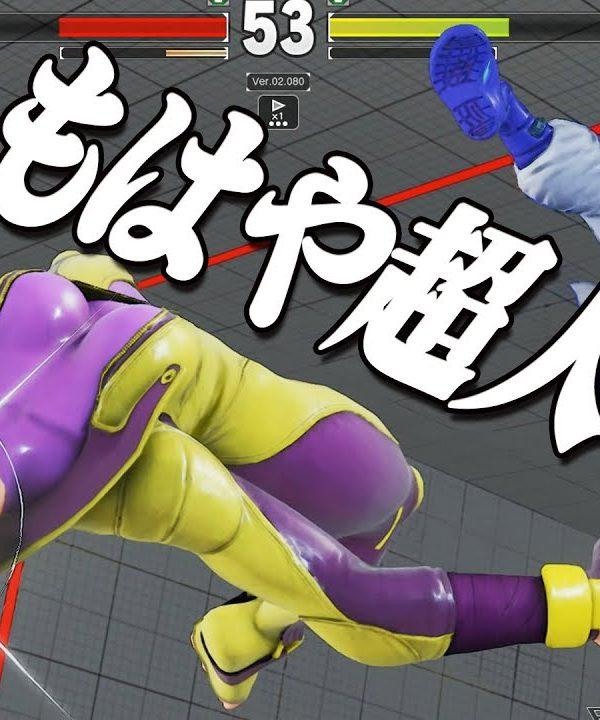 【スト5】パンク (ラシード) vs マスタージュリ 2先勝負 戦いながら戦闘力が上がるパンク 恐るべき底力 上級対戦
