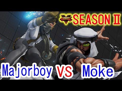 【スト5】メジャーボーイ(コーリン) VS もけ(ラシード)【Major boy(Kolin) VS Moke(Rashid)】