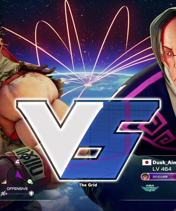 【スト5】ウメハラ(リュウ)vs だすく(ファン)