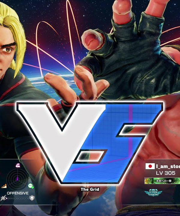 【スト5】ももち(ケン)vs ストーム久保(アレックス)