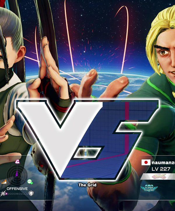 【スト5】メジャーボーイ(いぶき)vs ナウマン(ケン)