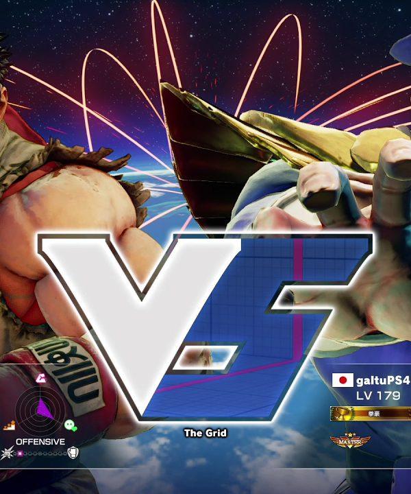【スト5】ウメハラ(リュウ)vs ガルツ(ベガ)