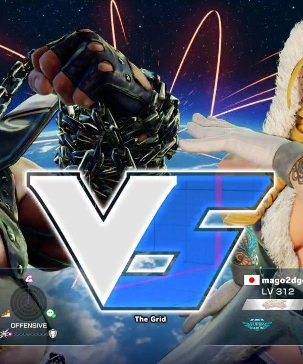 【スト5】クラッシャー(バーディ)vs マゴ(かりん)