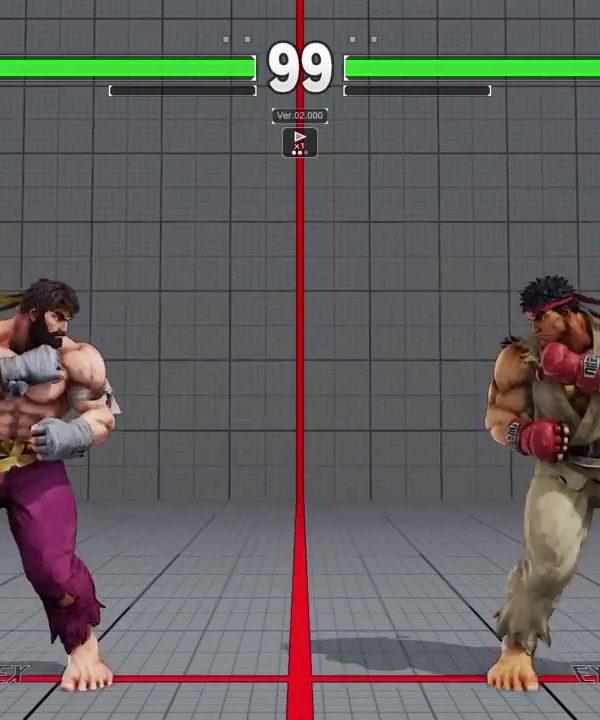 【スト5】ウメハラ vs ジョビン