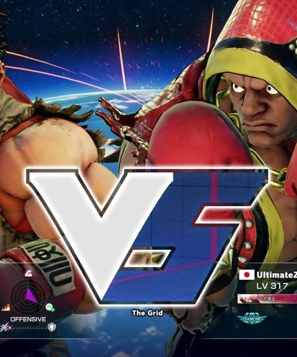 【スト5】ウメハラ(リュウ)vs ヴァナヲ(バイソン)