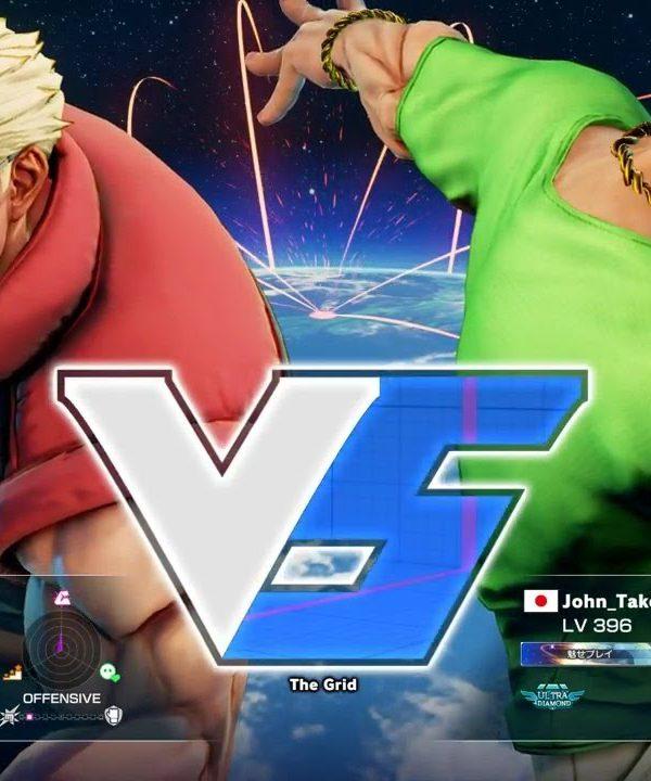 【スト5】ボンちゃん(ナッシュ)vs 竹内ジョン(ラシード)