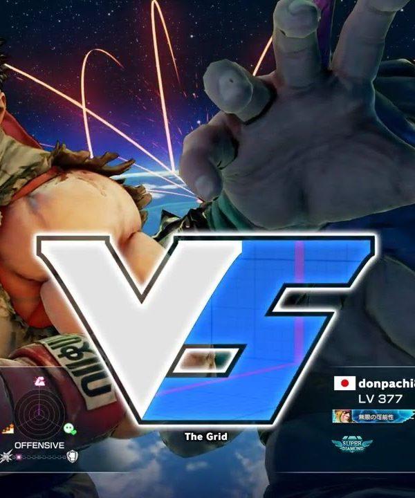 【スト5】ウメハラ(リュウ)vs どんぱち(アレックス)