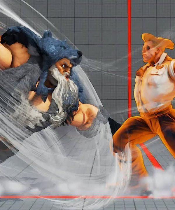 【スト5】ウメハラ (ガイル) vs 板ザン (ザンギ) 鉄壁のガイルに激烈火力の板ザンギ 2先勝負 最強画質上級対戦