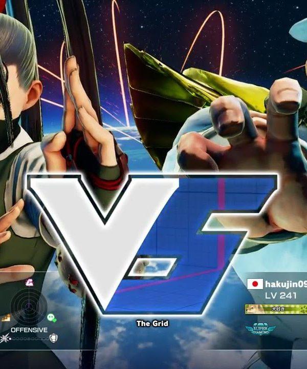 【スト5】メジャーボーイ(いぶき)vs ハク(ベガ)