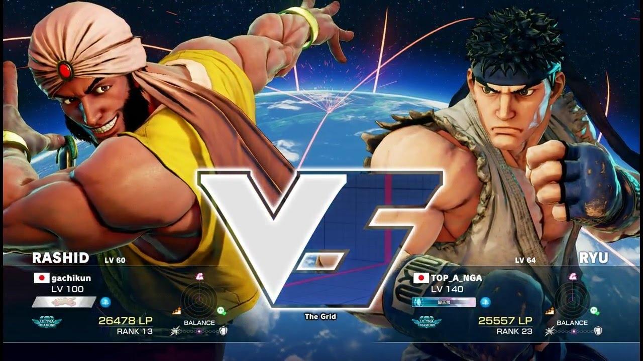 【スト5】ガチくん(ラシード)vs ときど(リュウ)