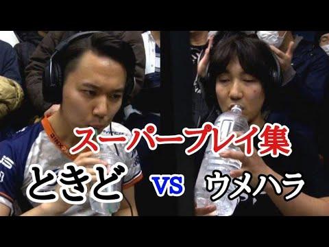 【獣道】ウメハラ vs ときどスーパープレイ集
