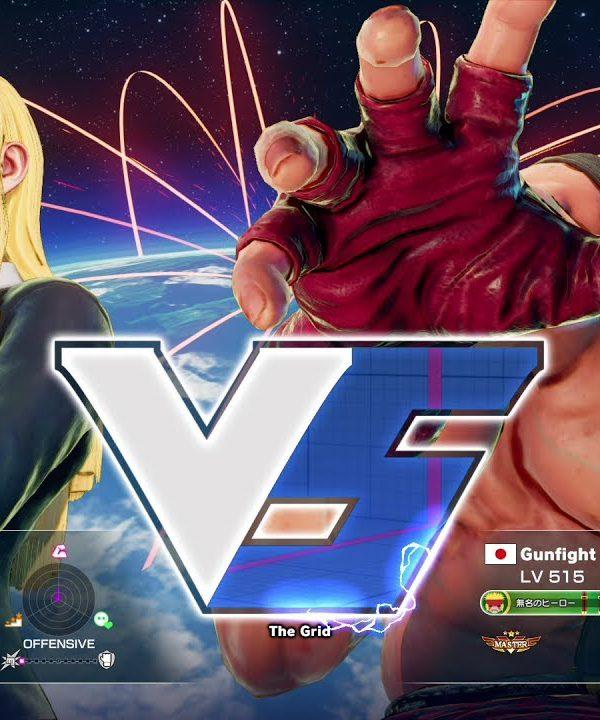 【スト5】ぷーんこ(コーリン)vs ガンファイト(アレックス)