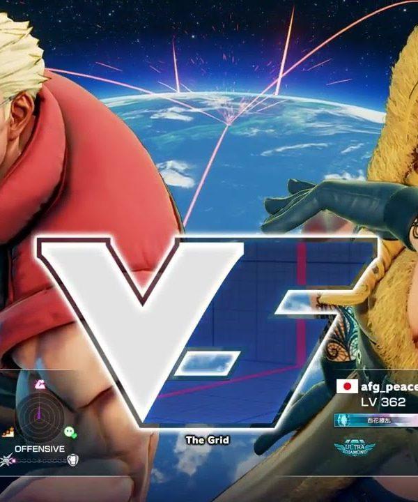 【スト5】ボンちゃん(ナッシュ)vs AFG(かりん)