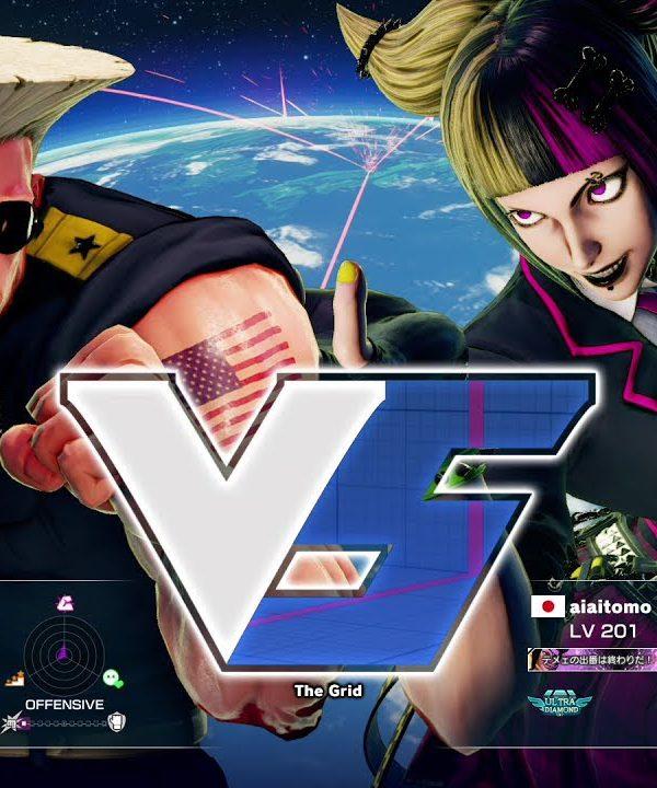 【スト5】やんぼ(ガイル)vs aiai(ジュリ)
