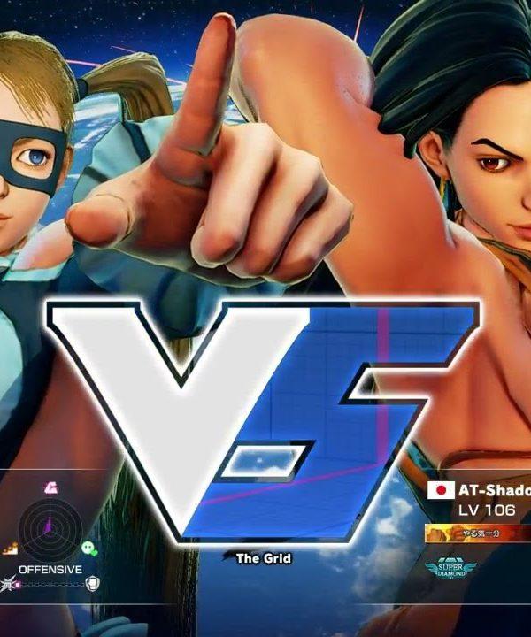 【スト5】ずんぽい(ミカ)vs AT-Shadow(ララ)