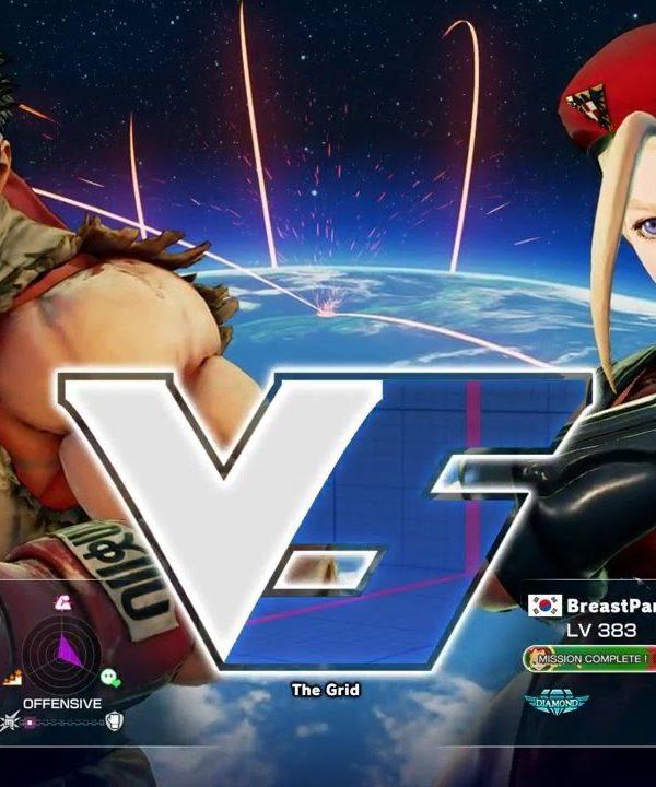 【スト5】ウメハラ(リュウ)vs BreastPantyHip(キャミィ)