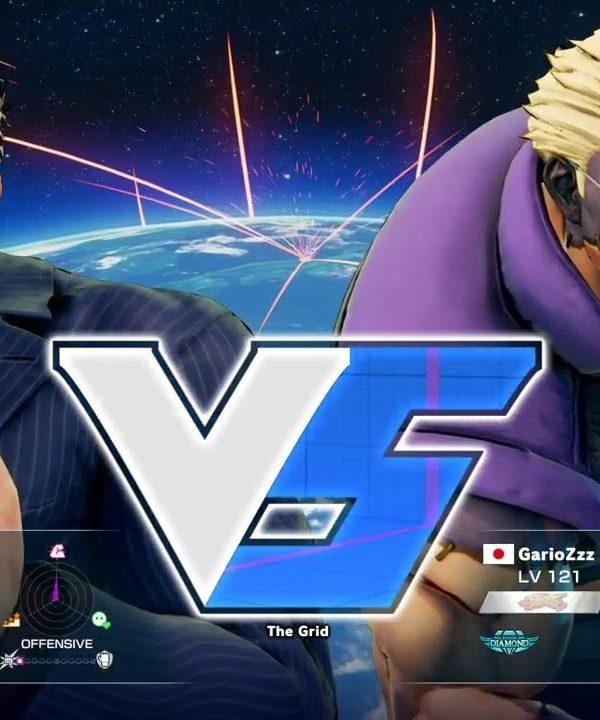 【スト5】ねも(ユリアン)vs GarioZzz(ナッシュ)