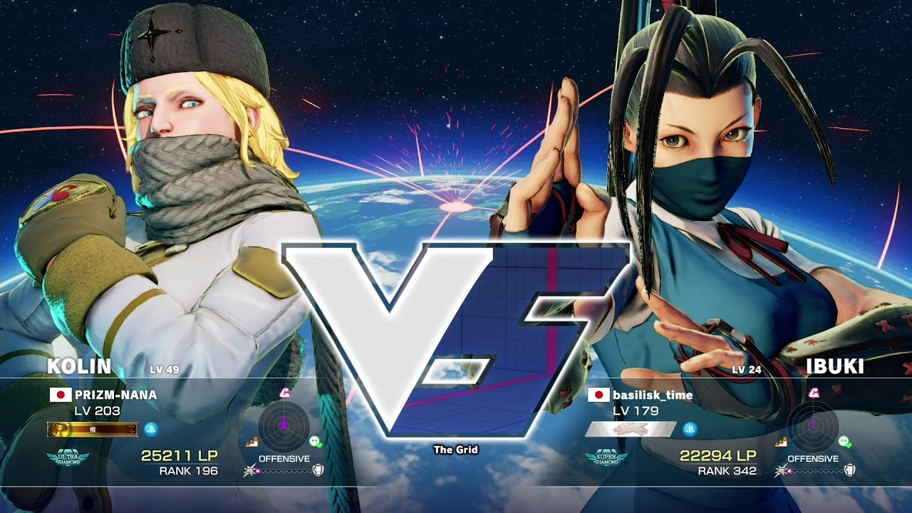 【スト5】メジャーボーイ(コーリン)vs GO1(いぶき)