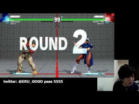 【スト5】【トパンガリーグ】ウメハラ vs ネモ&GO1戦 さそり解説