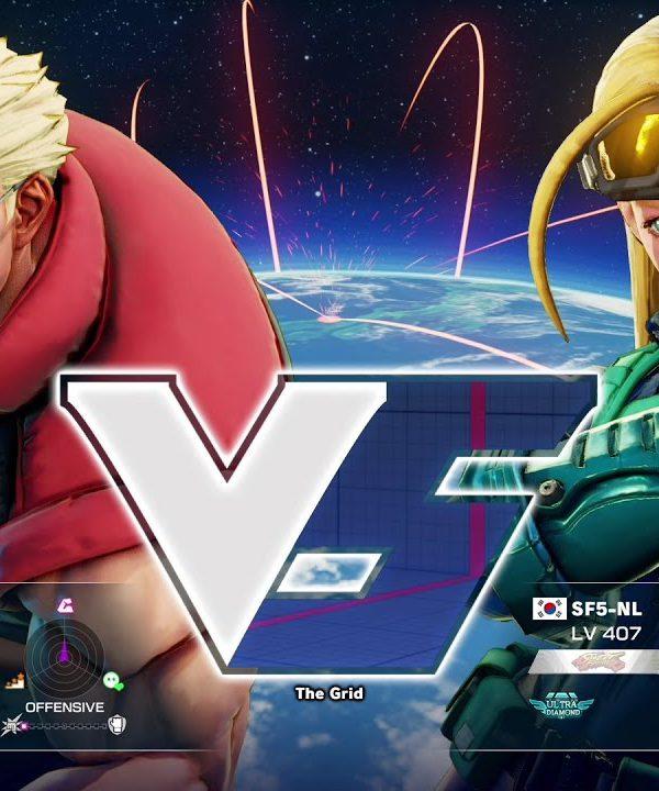 【スト5】ボンちゃん(ナッシュ)vs NL(キャミィ)