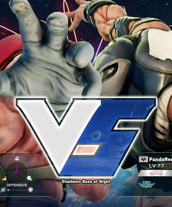 【スト5】ガンファイト(アレックス)vs PandaRen0624(ラシード)