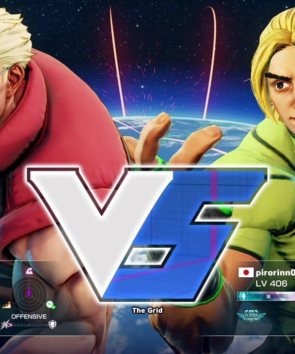 【スト5】ボンちゃん(ナッシュ)vs pirorinn0224(ケン)