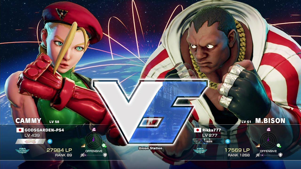 【スト5】かずのこ(キャミィ)vs Rikka777(バイソン)