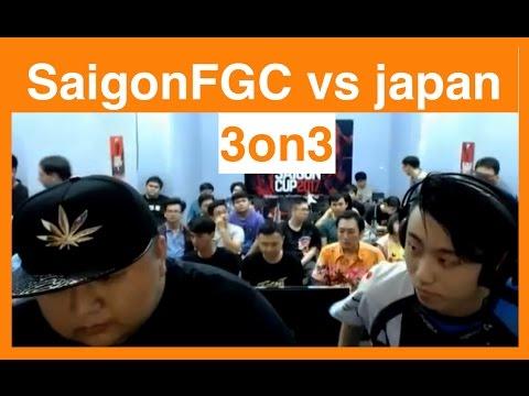 【スト5】日本 vs SaigonFGCチーム戦の結果は?サイゴンカップ2017