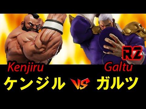 【スト5】ケンジル(ザンギエフ) vs ガルツ(ベガ) SF5 ZANGIEF vs M.BISON