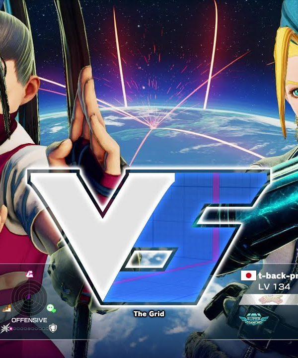 【スト5】ゆかどん(いぶき)vs t-back-prpr(キャミィ)