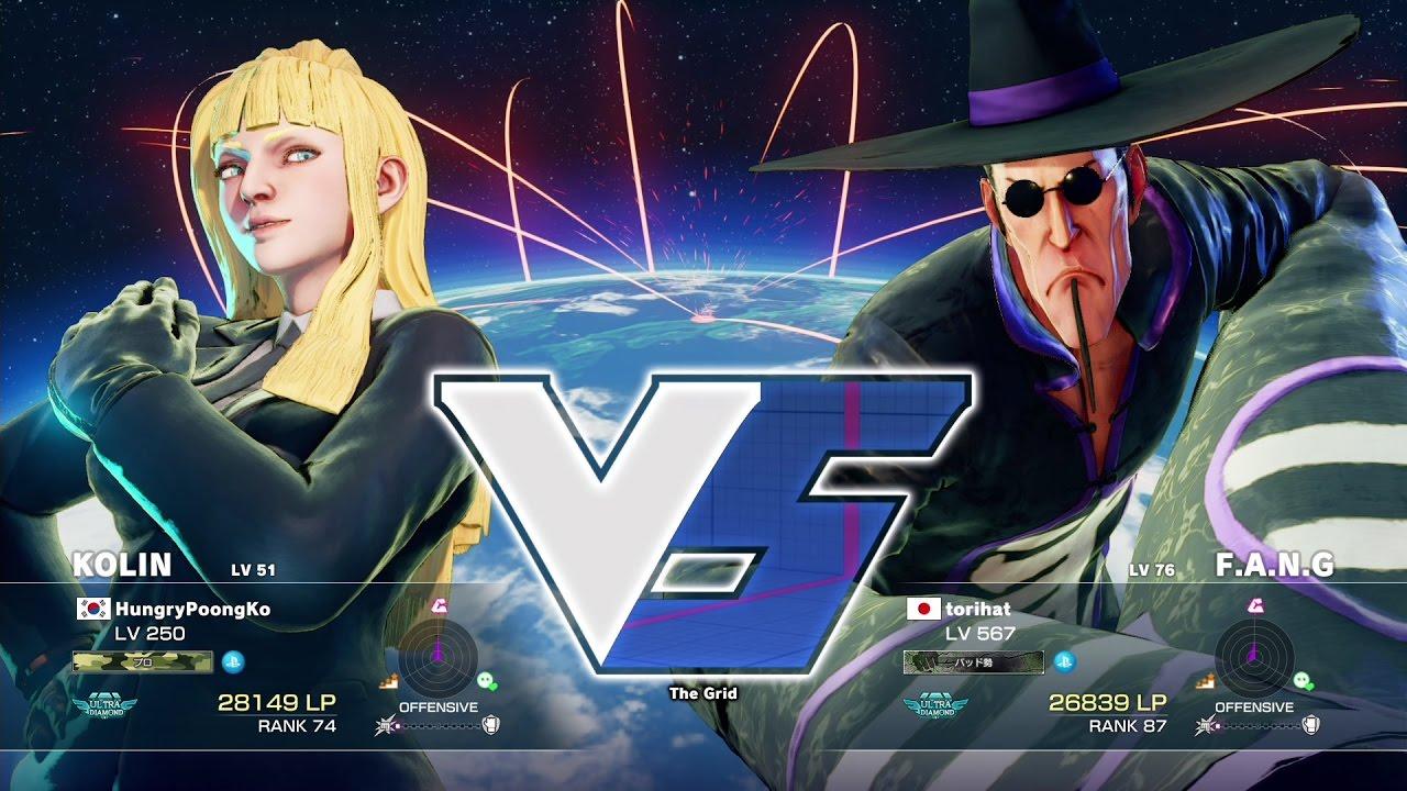 【スト5】ぷーんこ(コーリン)vs torihat(ファン)