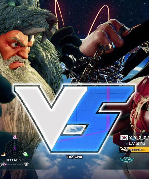 【スト5】板ザン(ザンギエフ)vs XYZZY(バーディ)