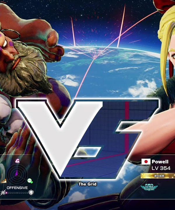 【スト5】YHC餅(ダルシム)vs Powell(キャミィ)