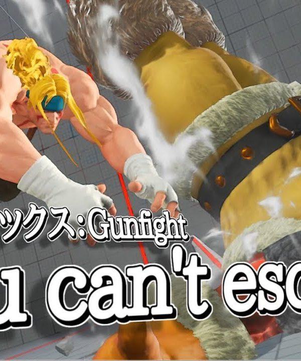 【スト5】【最高画質】「You can't escape」プロをも凌ぐ最強アレックス:Gunfightがカッコ良すぎるッ!